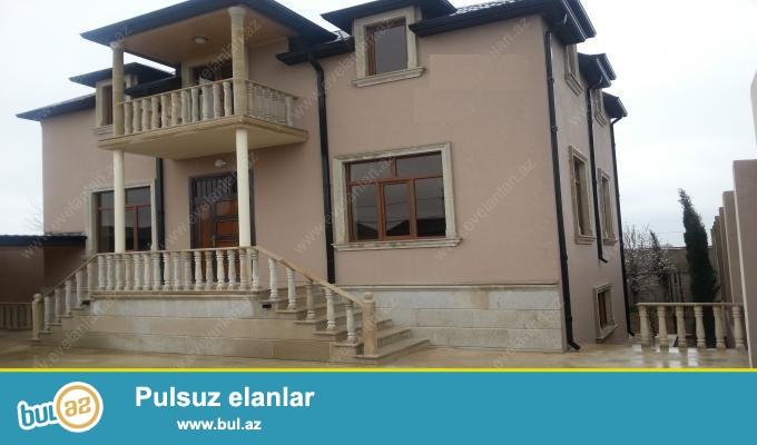 В поселке Мардакян срочно продается 5-ти комнатная 3-х этажная вилла...