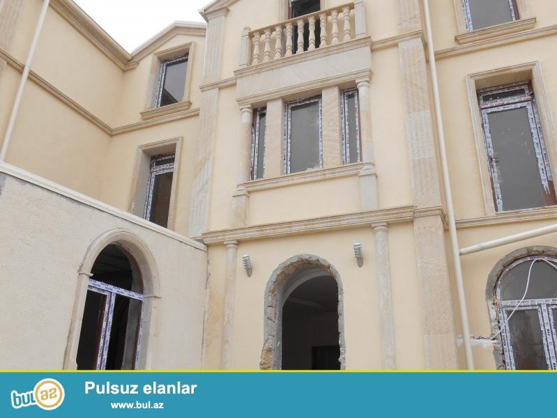**РУФАТ*АЙНУР**    MASAZIRDA,   SOLERO  PARKIN YAXINLIQINDA   1,8   sotun   icinde,  3  mertebeli   ela  temirli    villa    satılır...