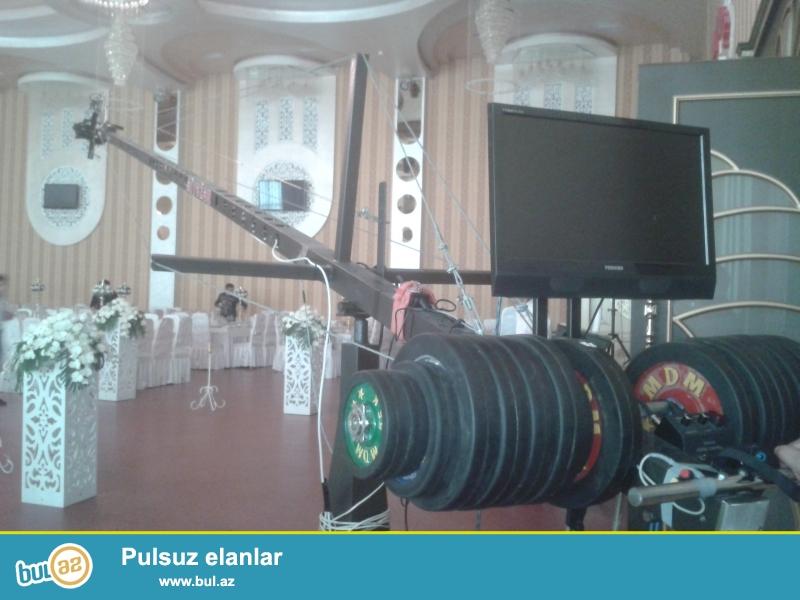 KRAN KAMERA...8.m hundurluk.SONY 1500 kamera ..HD....