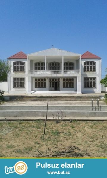 Очень  срочно ! В посёлке Нардаран  , продаётся 2-х этажный особняк нового строения площадью 550 квадрат 6-x комнатный дом расположенный на 32 сотках земли...