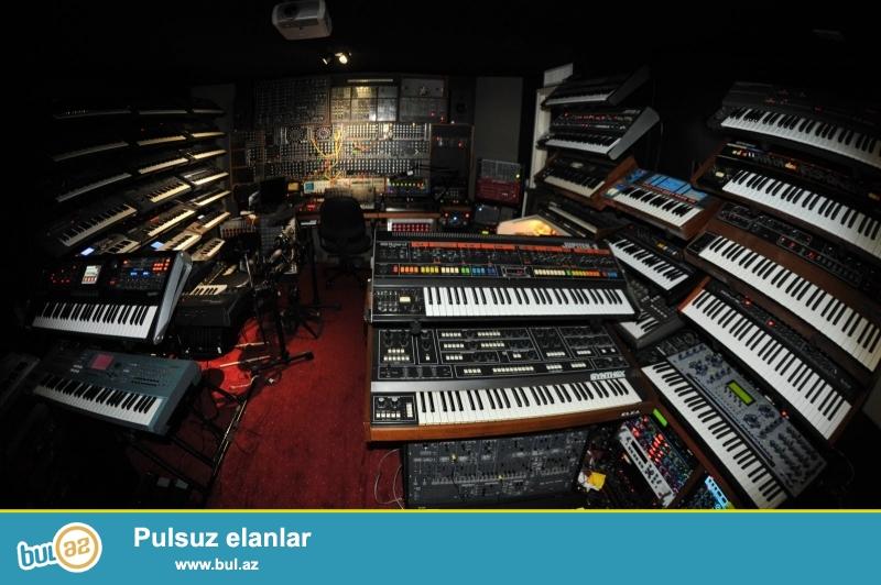 Korg Yamaha Casio ve Medeli kimi tanınmish firmalara mexsus pianino sitezator satisi...