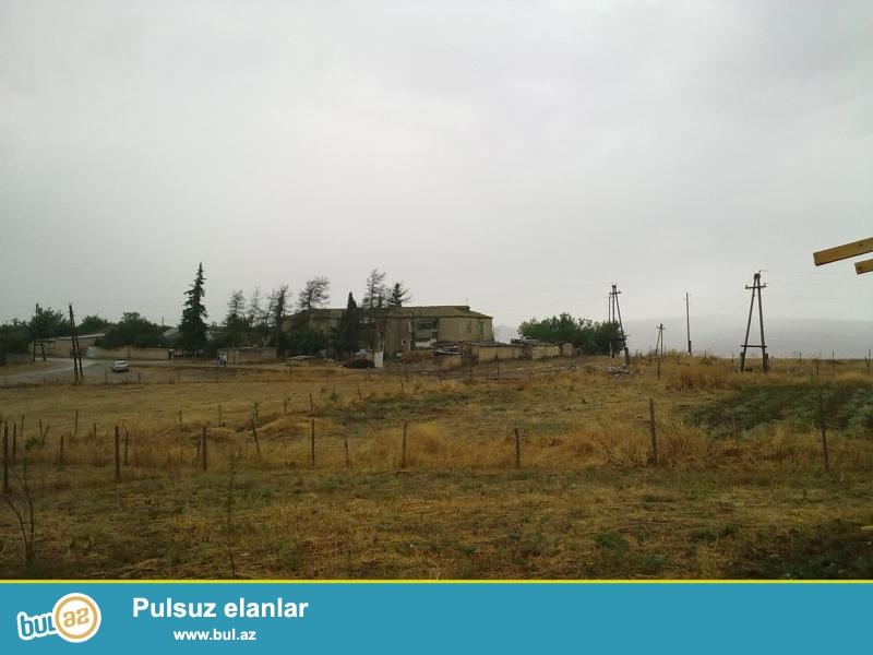 Şamaxıda Avtovağzaldan 5 km uzaqlıqda Çarhan kəndində 6 sot torpaq sahəsi satılır...