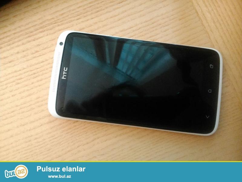 HTC One X 16 Gb white (ag) satilir. Yaxshi veziyyetdedir...