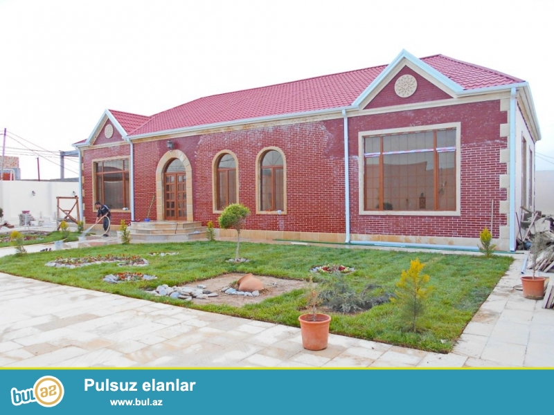 **РУФАТ*АЙНУР**    СРОЧНО!   В   связи   с  отъездом,   продается    новопостроенный   дом-дача   в   Мардакане,   строили   для  себя,   9   сот приватизированной   земли,   1-но   этажный   дом, 260  кв...