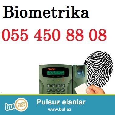 Biometrika / Kartla Keçid / Barmaq izi və s. / Təhlükəsizlik  (nəzarət) kameraları...