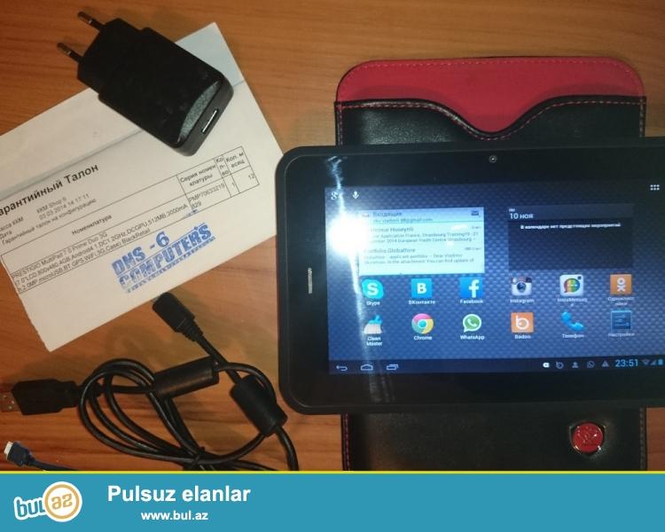 Prestigio Multipad Prime Duo 3g planşeti satılır,üstündə Office Suite PRO proqramı da verilir (9...