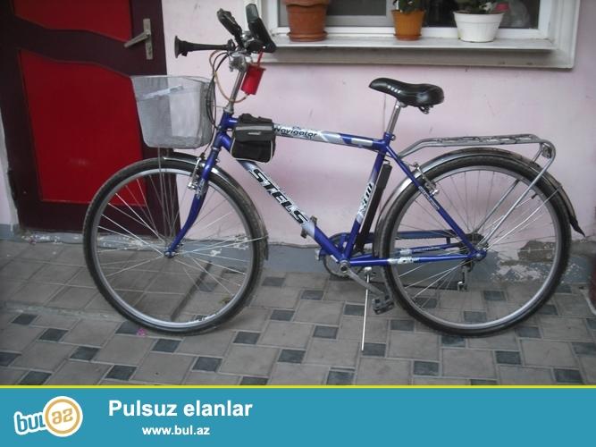 """STELS""-"" Navigator"" - 7-Sürətli (Skorostnoy)-(Rusiya) velosipedi satılır..."