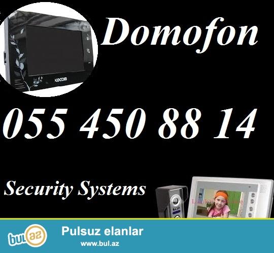 Domofon - 055 450 88 14<br /> <br /> Domofon – Sizin təhlükəsizliyinizi və rahatlığınız üçün...