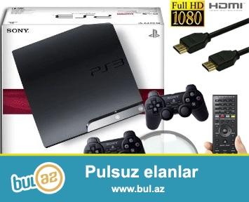 Playstation 3 proshivkali 500gb. Oyunlar isteye gore...