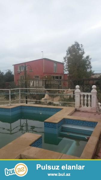 В Хазарском районе,в поселке Мардакян,вблизи моря срочно сдается 2-ух этажная,6-ти комнатная дача,расположенная на 20 сотках приватизированной земли...