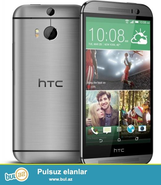HTC One M8 16GB satiram.Telefon 100 % originaldi.Almaniyadan ozum almiwam 7 aydi isledirem...