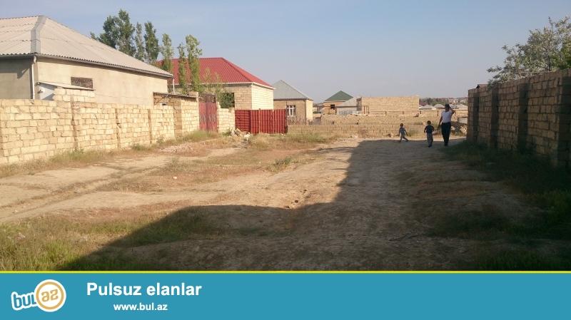 Sumqayit demiryol vagzalindan aralida 3sot torpaq ev ucun temelide var ucuz qiymete