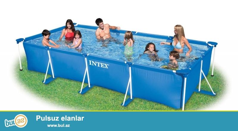 Product Description<br /> <br /> Каркасный бассейн Intex 28272 <br /> <br /> Бассейн на опорах Intex 28272, размер 300х200х75см...