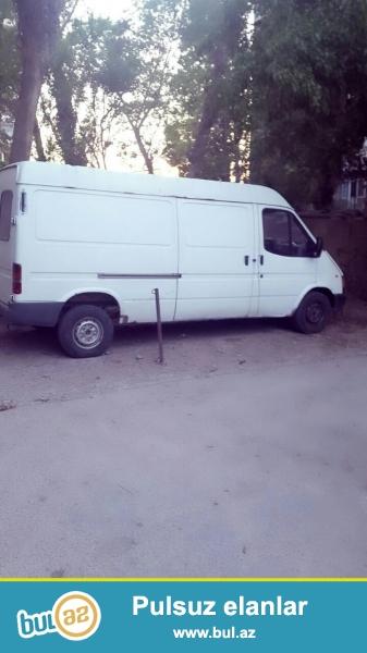 Təcili Ford Transit satılır. Qiyməti 7500 $. İli 1999...