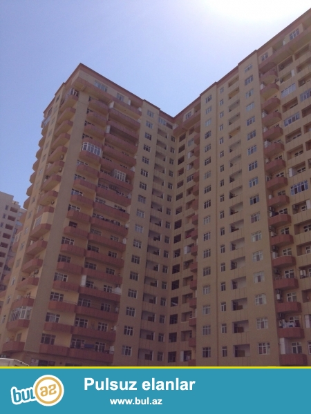 Новостройка! Cдается 2-х комнатная квартира в районе Ени Ясамал, рядом с конечной остановкой маршрутки №77...