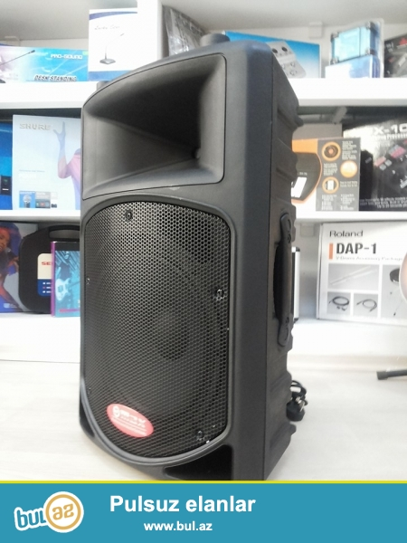 Max 1312 usb aktiv kalonka<br />\r\n2 kanal ( yeni istenilen 2 alet veya mikrafon) elave telefon DVD tulpan, usb (flashkart) vastesi ile hem ev sherayitinde hemde ad gunu shenlikleri xususi karaoke clublar ucun elverishlidir...