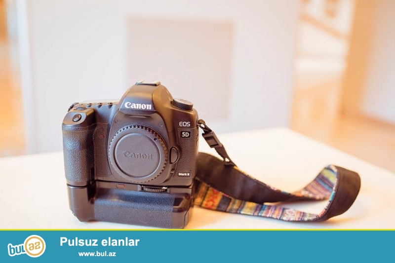 "Satilir:(Canon 5D Mark II BODY)(Aparat ""ELA"" veziyetdedir)<br />