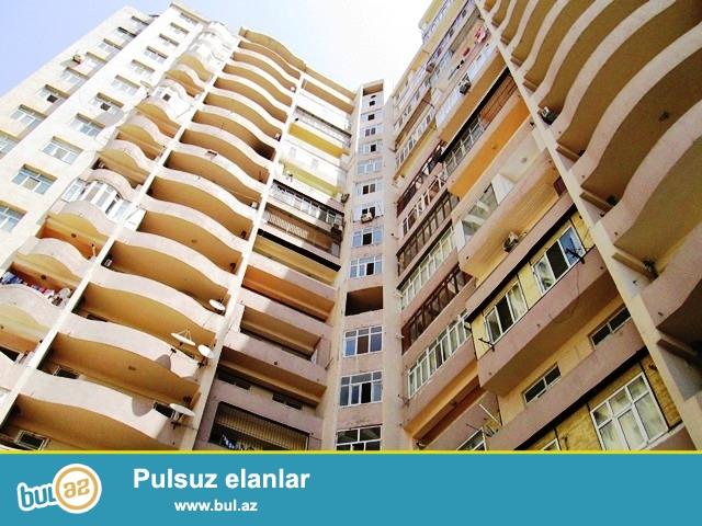 Q.Qarayev metrosunun yaxınlığında 16/11-ci mərtəbəsində super təmirli,yelçəkən,qazı olan binada 3 otaqlı mənzil satılır.