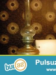 Teqriben 1870-ci ile aid qedim alman lampasi LANS AUS MESSING