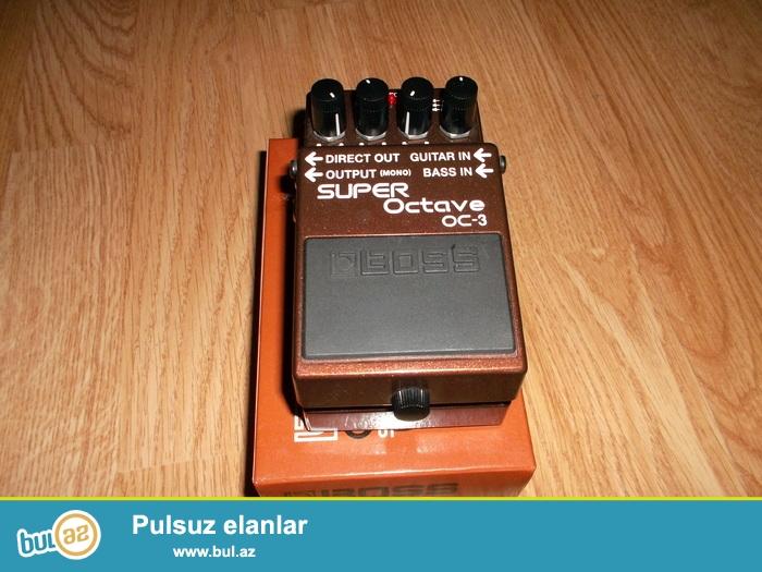 3 ses modu ile super pedal. orginal adaptoru ile birlikde...