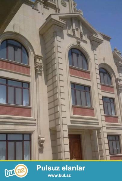 **РУФАТ*АЙНУР**    SULU   TEPEDE,   PEPSI- KOLANIN   yaxinliqinda   25   sotun   icinde,   3   mertebeli    ela    temirli   villa    satılır...