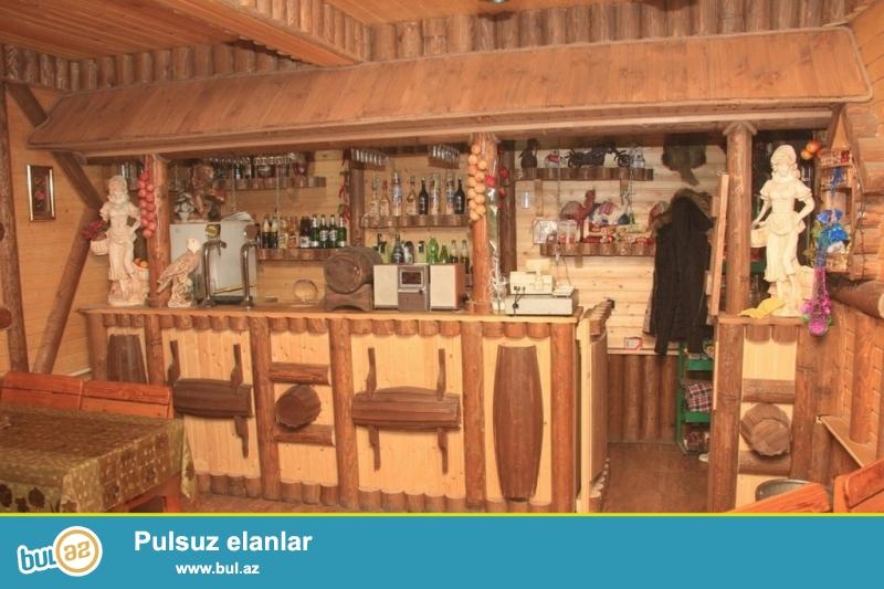 Очень срочно !  Для деловых людей продаётся  2 этажный *кафе – бар*  расположенный в густо населённом пункте недалеко от с/м  Мемар Аджеми ...