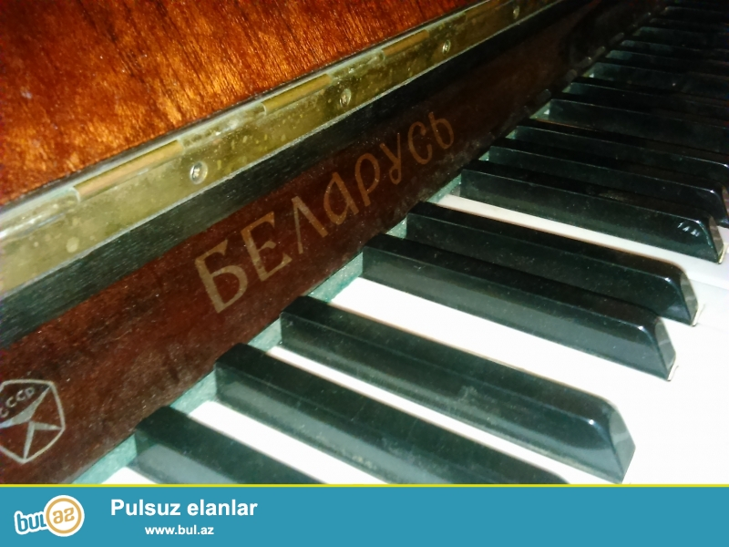 Belarus cox seliqeli saxlanilmis piano hec bir problemi yoxdu kokden dushmeyib...