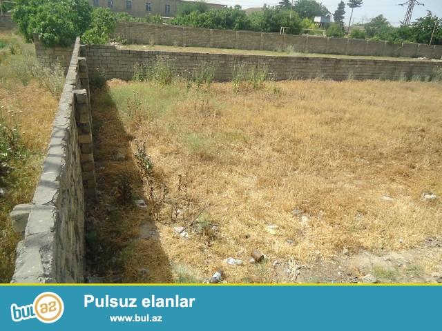 Əbdül  Sabunçu rayonu Maştağa Buzovna yolu tam yol kənarında obyektə yararlı olan 7 sot torpaq sahəsi satılır...