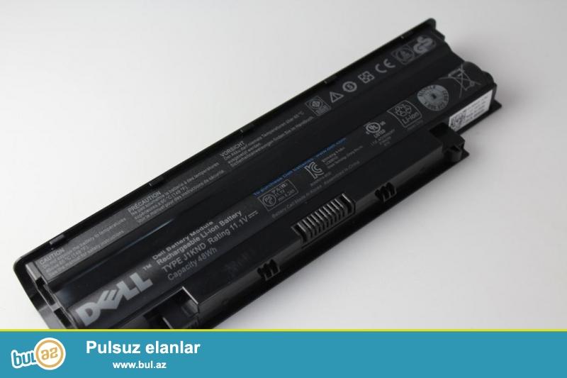 dell inspiron N5110 batareyka yaxsi veziyyetde.