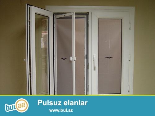 Plastik Pəncərə üçün Petləli ağcaqanad torlari (setka) üçün bizə müraciyyət edə bilərsiz...