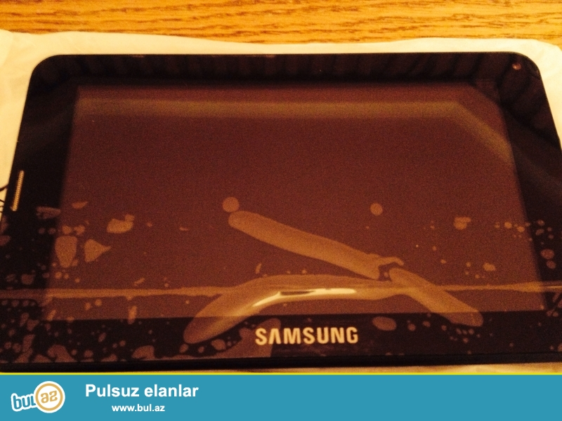 Samsung planshetler. ORIGINAL DEYIL!!<br /> Dubay istehsalidi. Qeydiyyatdan kecmediyi ucun bu qiymete verilir...