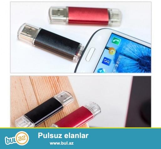 Telefon Üçün Flash Kart <br /> 4Gb- 12 AZN<br /> 8Gb-14 AZN<br /> Описание:<br /> <br /> Для устройств с помощью USB или микро USB-порт и обеспечивает Расширенное хранилище Емкость хоста Устройств...