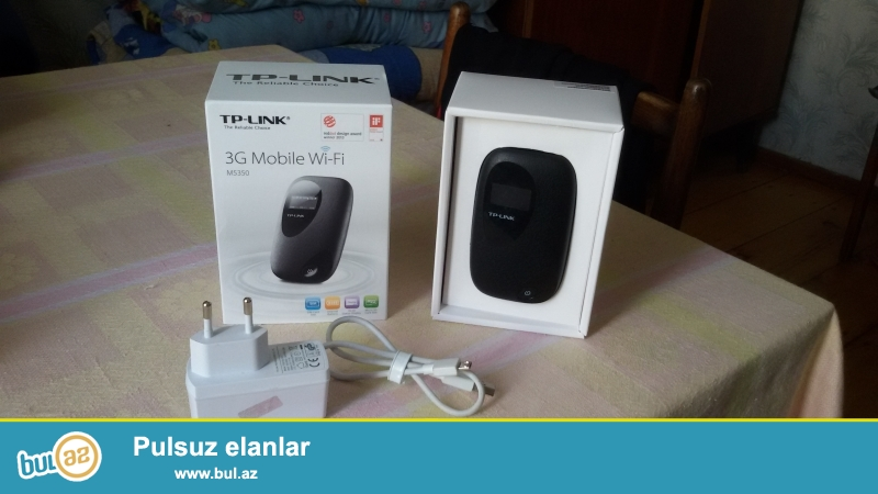 TP-LINK 2G-3G Wifi satlir..1 aydir alinib Irsad telekomnan zakaznan 125 azne getirilib...