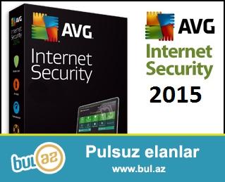 2 ILLIK AVG Internet Security 2015 - Antivirusdan daha üstün!<br /> <br /> AVG İnternet Security sizin kompyuterinizi qorumaqla yanaşı həmdə sosial şəbəkələrinizi,E-mailinizi ,internetdən istifadə zamanı  bütün təhdidlərdən sizi tam qoruyacaqdır!