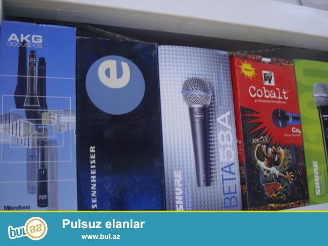 Max prosound sirketlerine mexsus mikrafonlar.<br />\r\nUsulitel mikser Karaoke , Tv , DVD , Kalonkalara qoshula bilen profesional ses efekti...