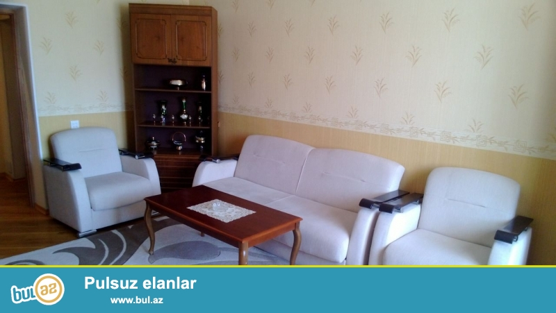 Новостройка! Cдается 2-х комнатная квартира в центре города,по проспекту Азадлыг, рядом с больницей имени Н...