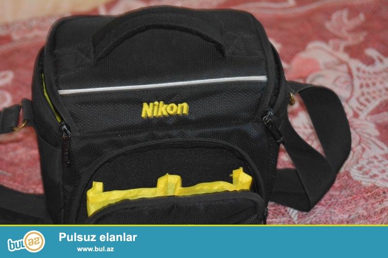 Satilir <br /> Nikon D5200(pr3-4min)+18-55mm+UV filtir  zemanet+canta+karopka<br /> Kontakt home-dan alinib tezedi seliqeli isledilib...