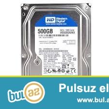 salam HDD ( hard disk ) ve ram satiram teze<br /> persanalni <br /> HDD-500 Qb   35 manat<br /> Ram -4 Qb   30 manat  - Potrion<br /> 055...