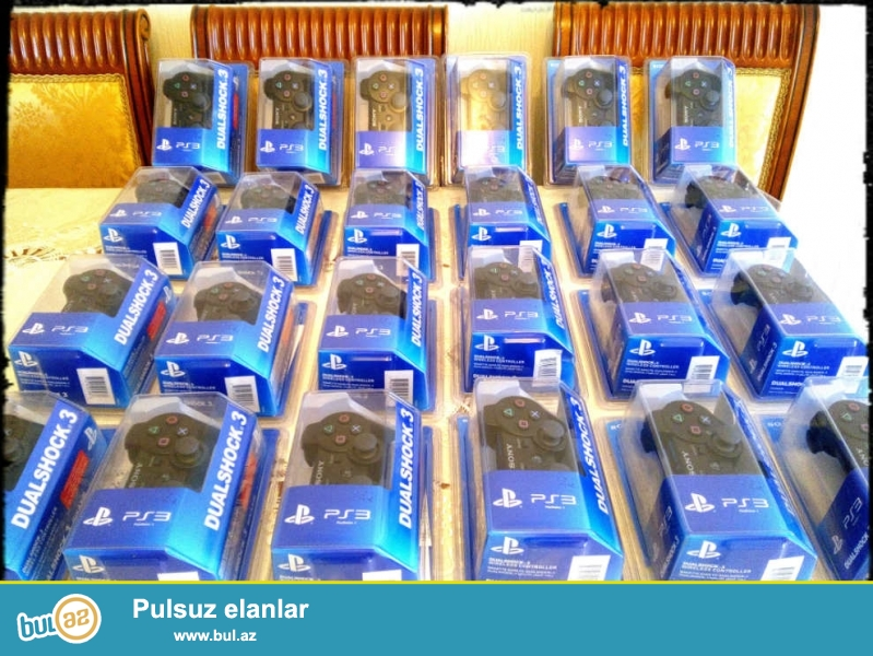 Playstation 3 (PS3) jostik ,orginal mehsuldur. Azerbaycanin butun bolgelerine  gonderilir ...
