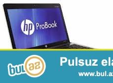 Hp probook 6460 <br /> Cpu i3<br /> RAM 4gb<br /> hdd 320gb<br /> super driver<br /> 250azn<br /> Tecili satilir az islenib tel:0708940003