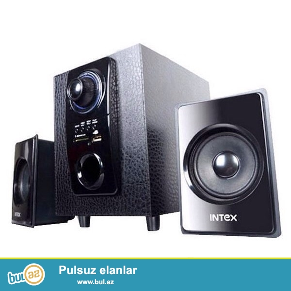 İntex firmasının 3 lü kalonka desti.Güclü ve temiz ses effektine malikdir.Bunnan elave hem flash kart hem de micro card destekleyir.