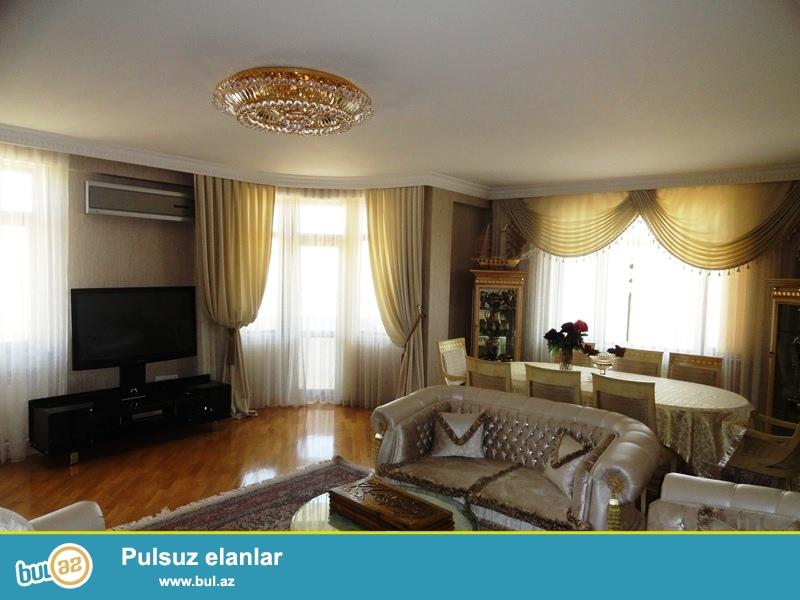 Новостройка! Cдается 3-х комнатная квартира в центре города,в Ясамальском районе, рядом с кругом Гелебе ...