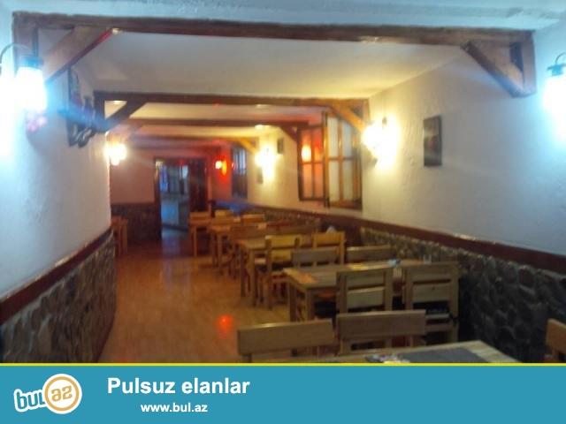 Q.Qarayevdə yol kənarı 16/1, 125+60kv.m təmirli restoran satılır...