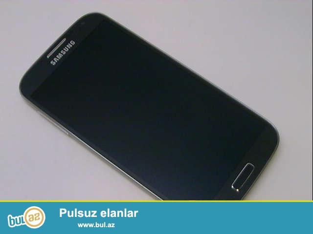 Samsung Galaxy S4 - Black mist.<br /> Zəmanəti var...