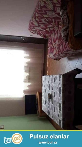 Yeni tikilmish binada studio . <br /> 2 otaga duzeldilmish; metbex mebeli , paltaryuyan , soyuducu , televizor , ve lazimli mebel eshyalari ( charpayi , divan , stol-stull ...