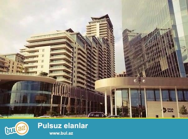 """Сдаётся 3-х комнатная квартира в центре в престижном комплексе """"Port Baku Residence"""", построенном в соответствии с самыми строгими международными стандартами..."""