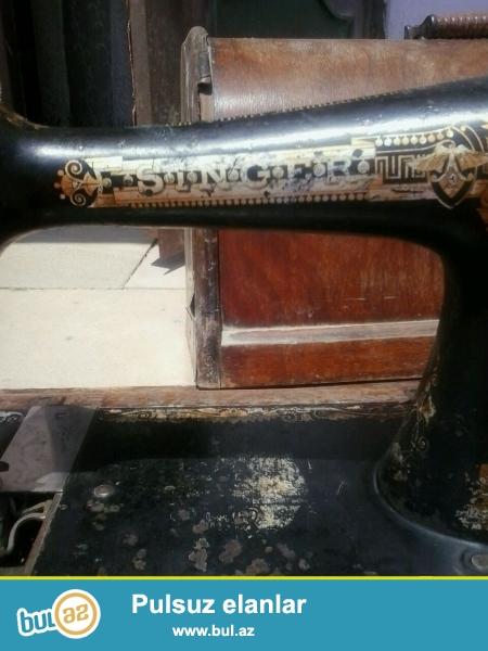 Tecili islek veziyyetde 1909 cu il Singer tikis masini satilir...