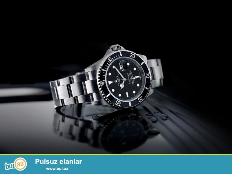 Yeni Rolex Brendi <br /> *Euro zamoq sep<br /> *su kecirmir rengi getmir<br /> *Qab+pasport+paket<br /> *1 il tam zemanet<br /> Catdirilma pulszudur<br /> Elaqe 077 396 90 90<br /> Wapsapp aktivdir
