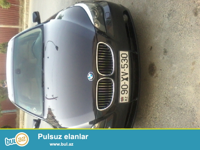BMW 530 motor 3 ela veziyyetde Full salon