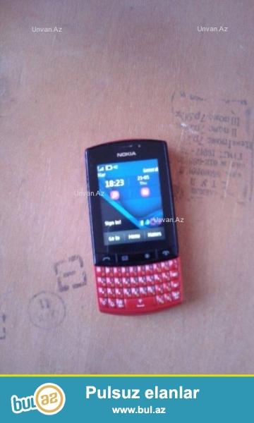 Nokia 303. Telefon işlək vəziyyətdədi. Son qiymət 30 azn